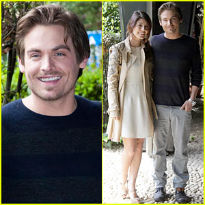 Kevin Zegers: 'Titantic' Photo Call in Rome!