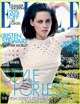 Kristen Stewart Covers Elle UK June 2012