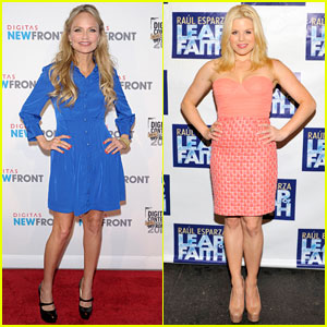 Kristin Chenoweth & Megan Hilty: Big Apple Beauties!