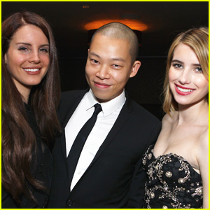 Lana Del Rey & Emma Roberts: InStyle's Jason Wu Dinner!