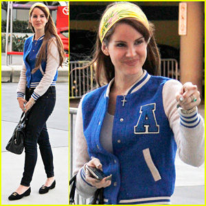 Lana Del Rey: Lakers Game with Jimmy I