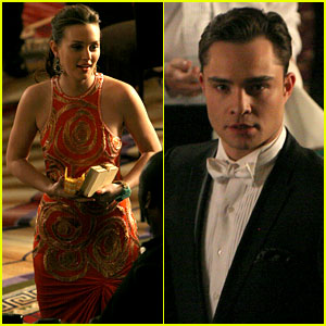 Leighton Meester & Ed Westwick: Blackjack Buddies!