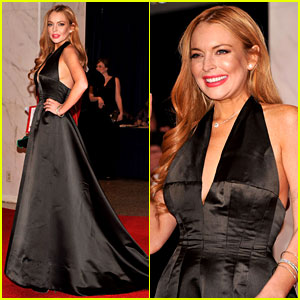 Lindsay Lohan - White House Correspondents' Dinner