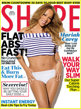 Mariah Carey Covers 'Shape' May 2012