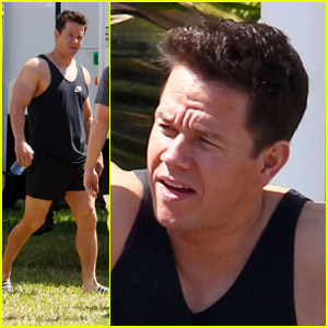 Mark Wahlberg: On Set for 'Pain and Gain'