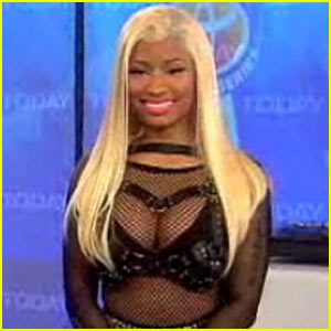 Nicki Minaj Performs 'Starships' On 'Today'!