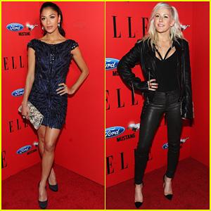 Nicole Scherzinger & Ellie Goulding: Elle's Women In Music!