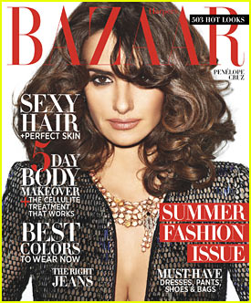 Penelope Cruz: 'Harper's Bazaar' May 2012 Cover!