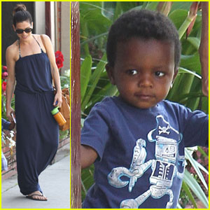 Sandra Bullock: Antiquing with Louis!