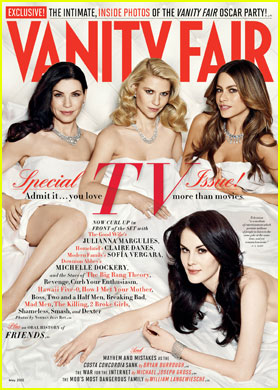 Sofia Vergara & Claire Danes Cover 'Vanity Fair' TV Issue