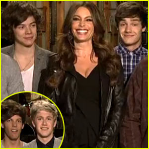 Sofia Vergara: 'SNL' Promos With One Direction!