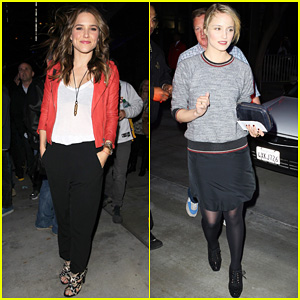 Sophia Bush &#038; Dianna Agron: Lakers Ladies!