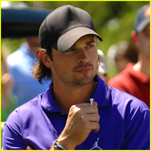 Tom Welling: Michael Jordan Celebrity Golfer!