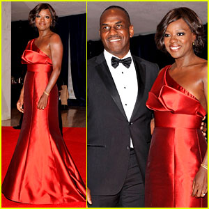 Viola Davis - White House Correspondents' Dinner 2012