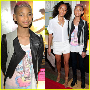 Willow Smith: 'First Position' Premiere with Mom Jada!