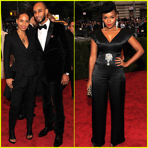 Alicia Keys & Janelle Monae - Met Ball 2012