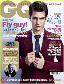 Andrew Garfield Covers GQ British