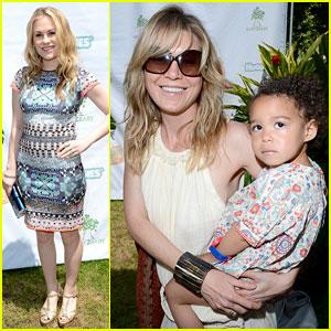 Anna Paquin & Ellen Pompeo: Baby2Baby Luau!
