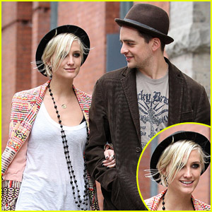 Ashlee Simpson &#038; Vincent Piazza: Big Apple Bonding