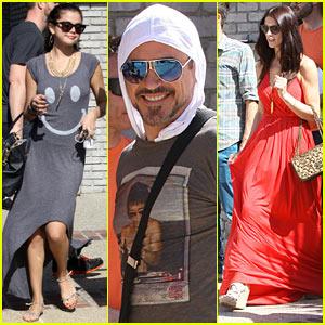 Selena Gomez & Ashley Greene: Memorial Day Party!