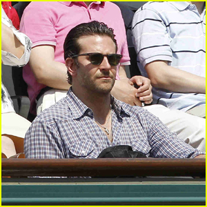 Bradley Cooper: French Open Front Row Seats!