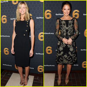 Brooklyn Decker & Minka Kelly: Got Your Six Launch!