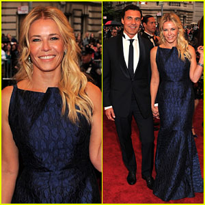 Chelsea Handler: Met Ball 2012 with Andre Balazs!