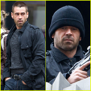 Colin Farrell: On Set for 'Dead Man Down'