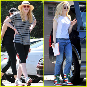 Dakota & Elle Fanning: Sunny Spring Saturday!
