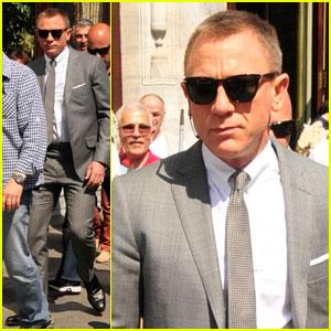 Daniel Craig: 'Skyfall' Set in Istanbul | Daniel Craig : Just