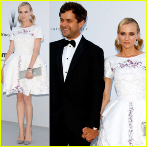 Diane Kruger &#038; Joshua Jackson - amfAR Cannes Gala 2012