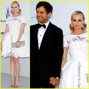 Diane Kruger & Joshua Jackson - amfAR Cannes Gala 2012