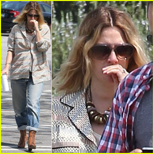 Drew Barrymore: Huntington Library Photo Shoot