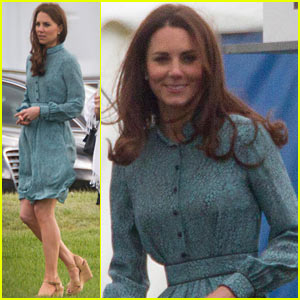 Duchess Kate Cheers On Prince William's Polo Match!