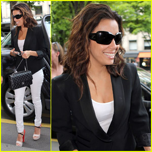 Eva Longoria: Global Gift Gala in Paris!