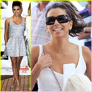 Eva Longoria: Dynamic Walk-A-Thon Press Conference!