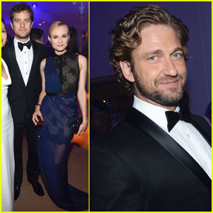Gerard Butler: Haiti Carnival in Cannes Benefit!