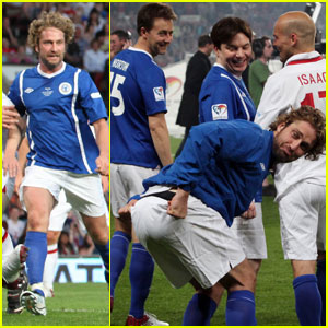 Gerard Butler: Soccer Aid for UNICEF!