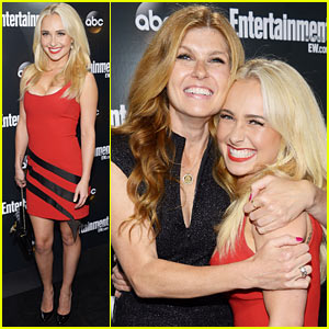 Hayden Panettiere: ABC Upfront with Connie Britton!