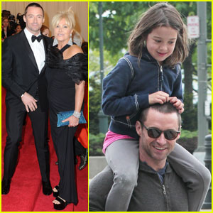 Hugh Jackman: Met Ball 2012 with Deborra-Lee Furness!