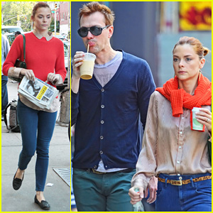 Jaime King & Kyle Newman: East Village Lovers!