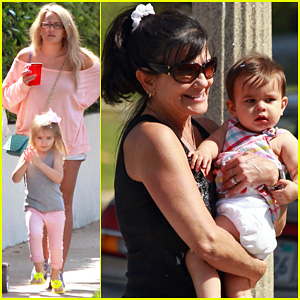 Jamie Lynn Spears: Sunday Family Outing!