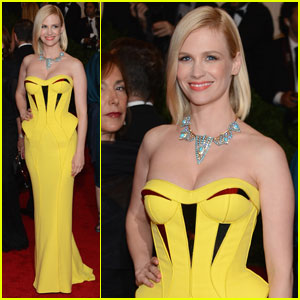 January Jones - Met Ball 2012