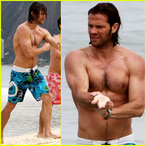 Jared Padalecki: Shirtless in Rio! | Jared Padalecki, Shirtless : Just