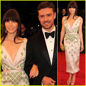 Jessica Biel & Justin Timberlake - Met Ball 2012