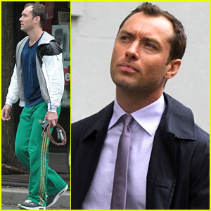 Jude Law Not Concerned About Aging