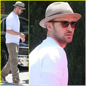 Justin Timberlake Recording Music for Jessica Biel's New Film