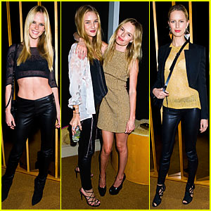 Kate Bosworth: Harry Josh's Hairball Party with Rosie Huntington-Whiteley! (Exclusive)