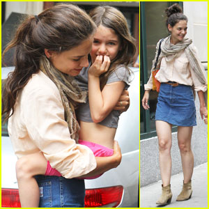Katie Holmes & Suri: Back in the Big Apple