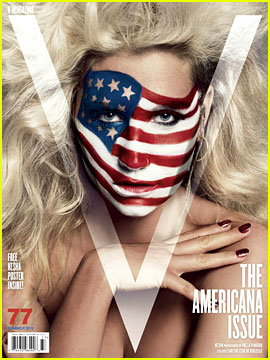 Ke$ha Covers 'V' Magazine's Americana Issue